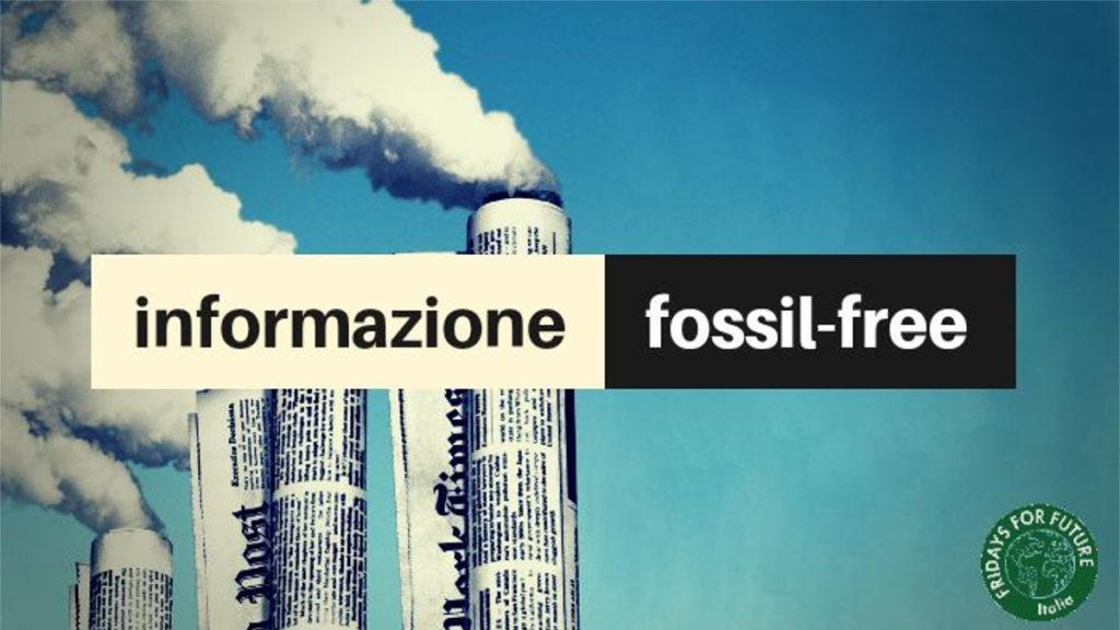 INFORMAZIONE FOSSIL-FREE 