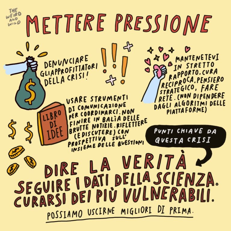 Credits: The Weird and Wild, Traduzione: FFF Italia