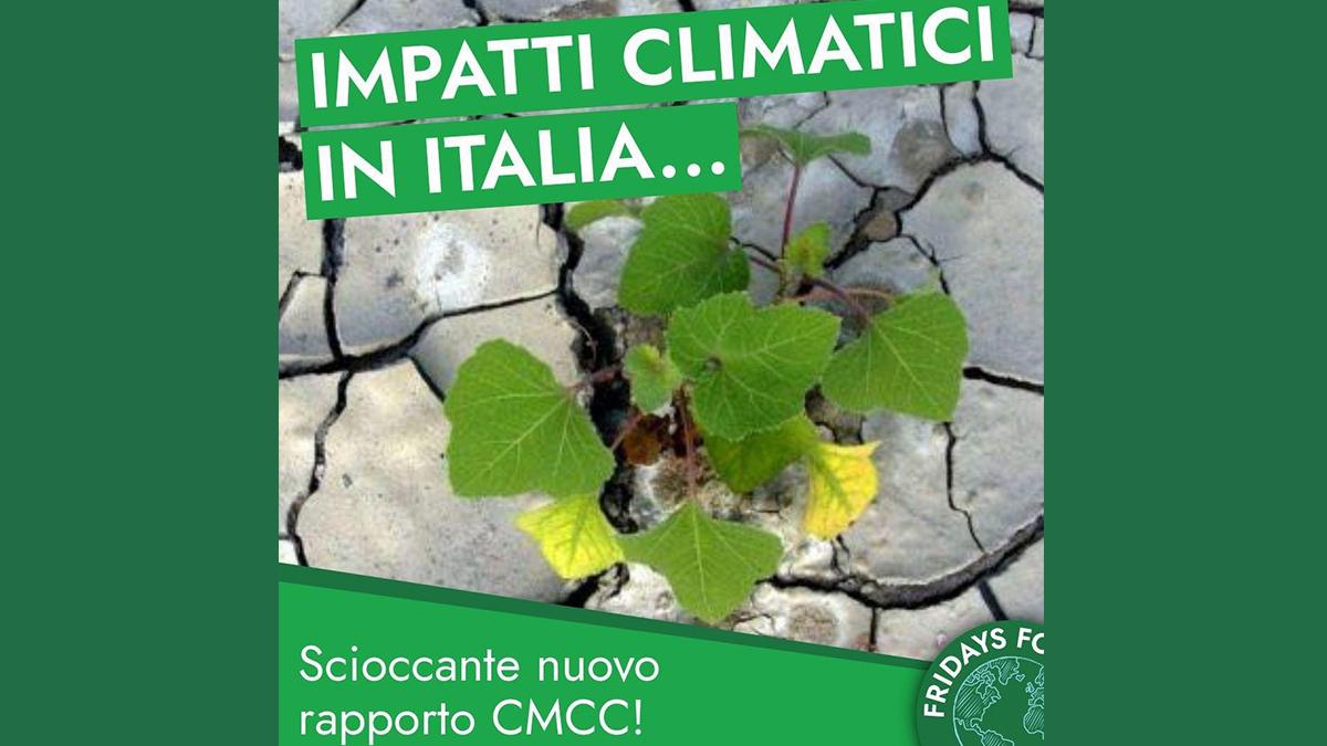 Breaking news! Nuovo rapporto CMCC: il rischio climatico in Italia