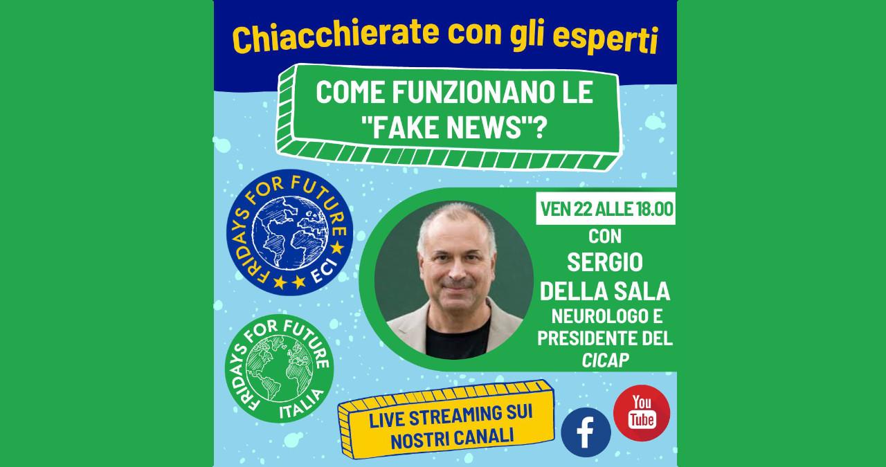 """Webinar con Sergio Della Sala: """"Sale e zucchero si assomigliano"""""""