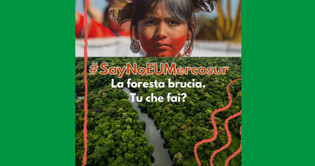 No all'accordo EU-Mercosur