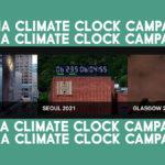 Campagna Climate Clock: per far conoscere quanto tempo ci resta per agire
