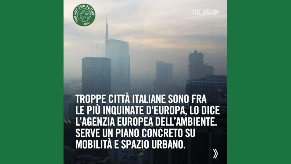 Inquinamento atmosferico, Italia tra le peggiori d'Europa